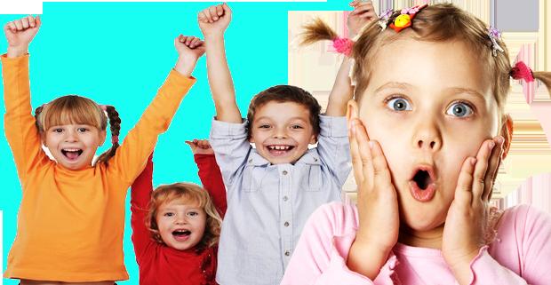kinderen verassen met popcorn